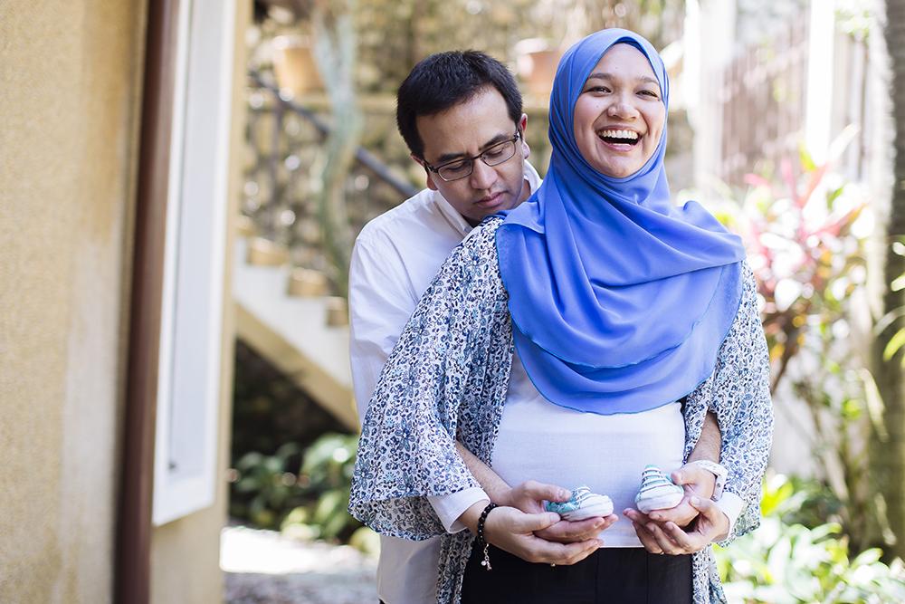 Maternity Photoshoot - Shahida & Azan - 143